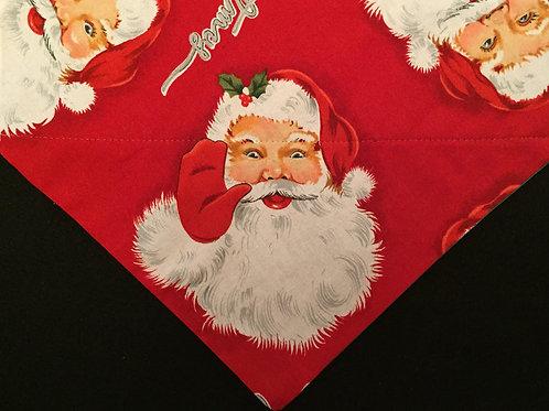 Waving Santa - Red