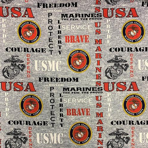 United States Marines Face Mask
