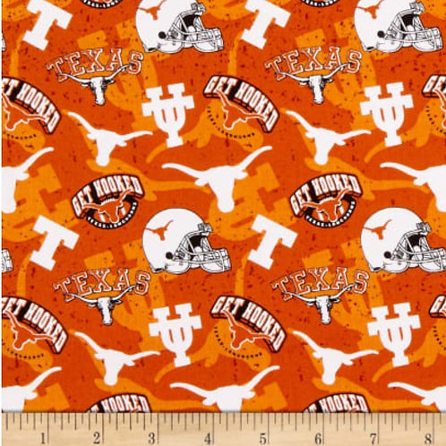 UT Longhorns All Over Pattern