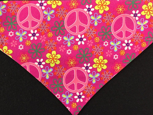 Peace Signs - Pink