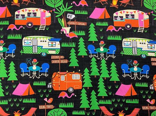Camping Adventures - Black