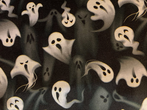 Screaming Ghosts Face Mask
