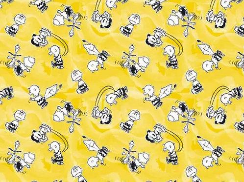 Peanuts Flying Kites