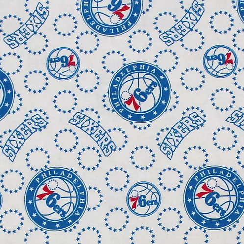 76ers - White Face Mask