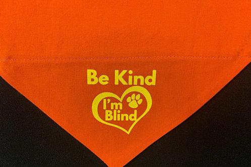 Be Kind I'm Blind - Orange