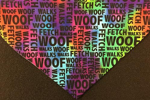 WOOF - Tie Dye