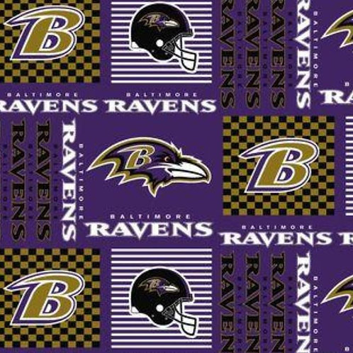 Baltimore Ravens Purple Face Mask