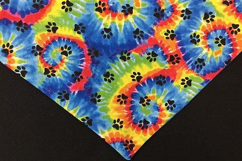 Tie Dye Paws II