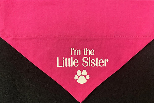 I'm the Little Sister -  Pink