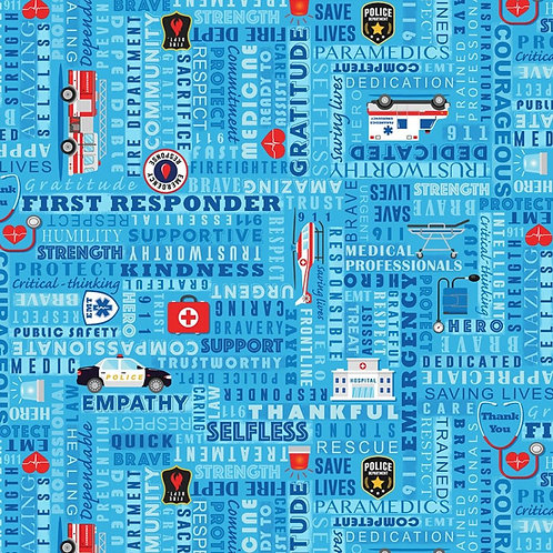 First Responder Heroes Face Mask