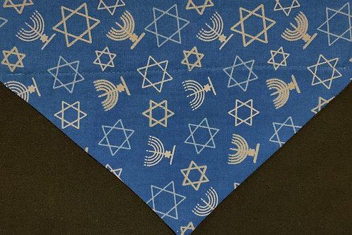 Hanukkah Stars and Menorahs