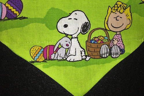 Snoopy Easter - Lime Green XS only