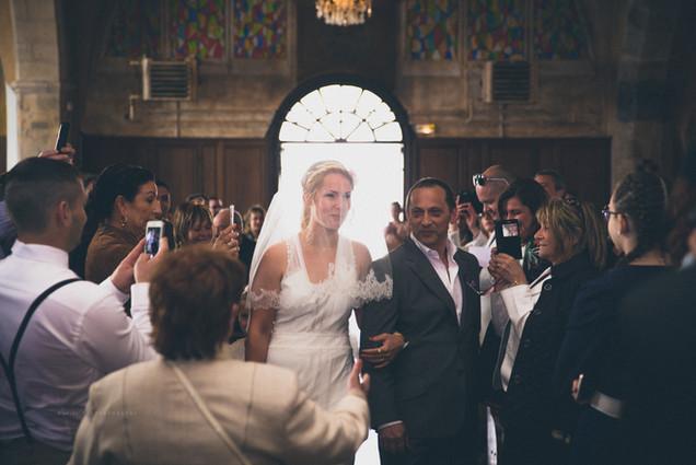 Mariage photo église