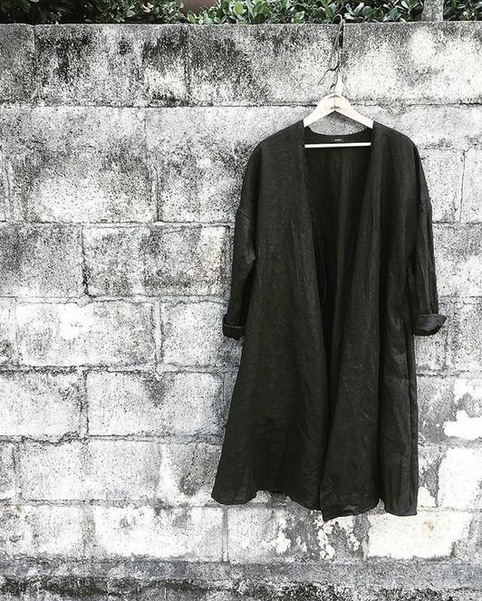 linen羽織