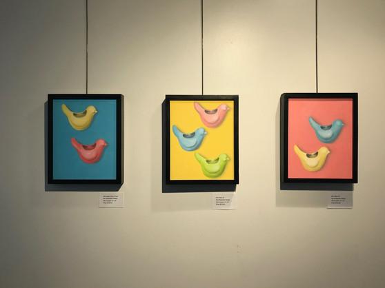 Bird Vases