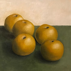 Asian Pears Painting