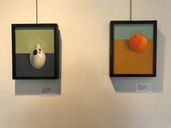 Vase and Orange