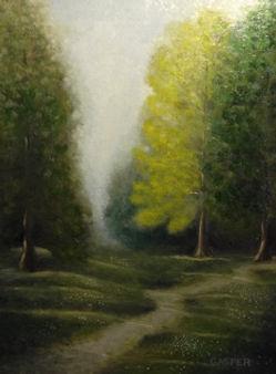 Woodland Park landscape painting