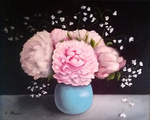 Peonies (Commissioned Painting)