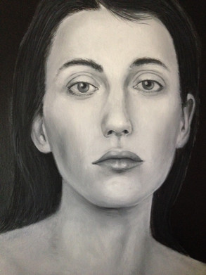 Woman Portrait #1 | Oil on canvas | 12x9 inches