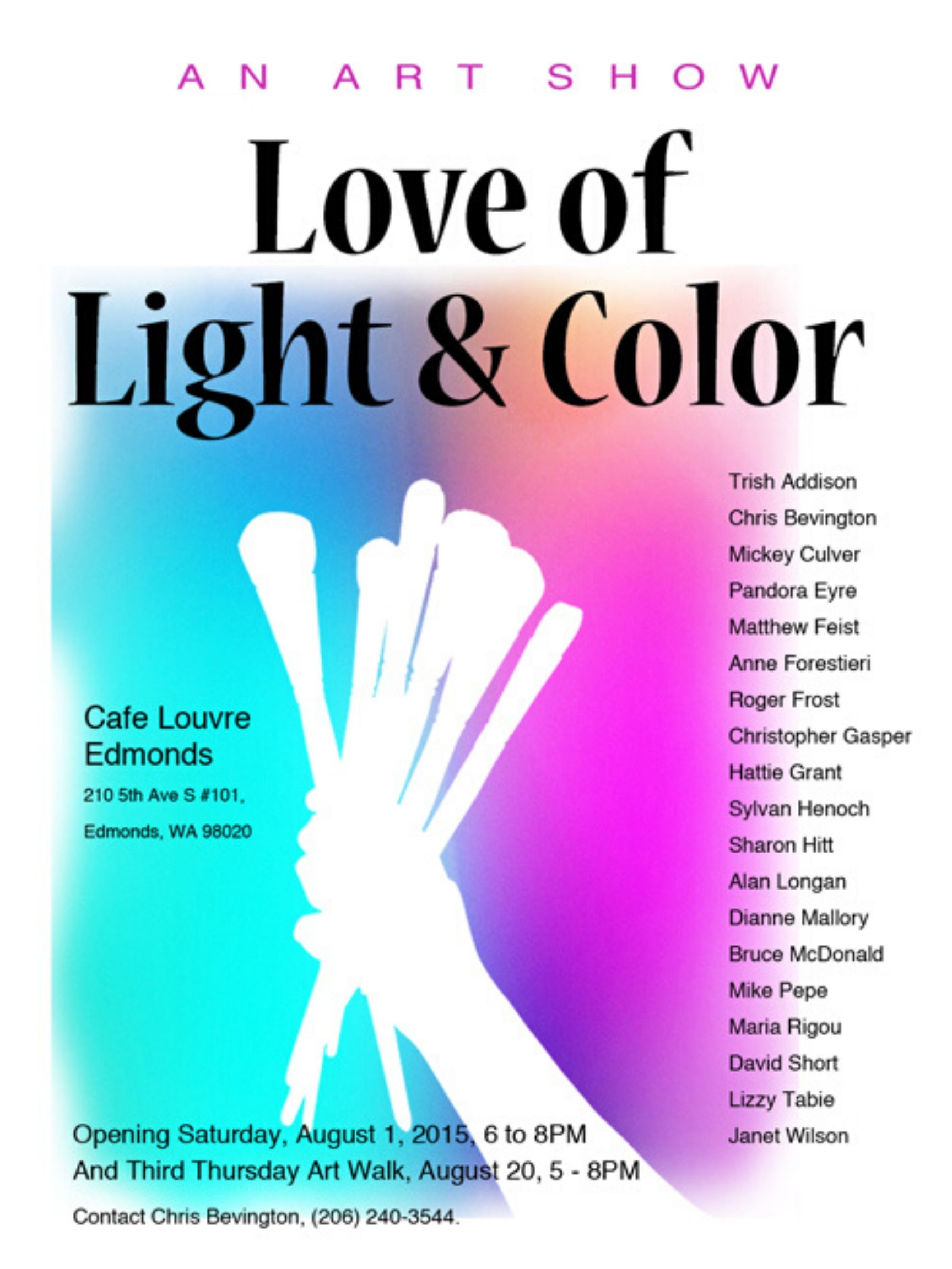 Love of Light & Color Show 2015