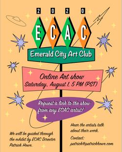 ECAC Online Show 2020 Poster