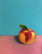 Peach Painting