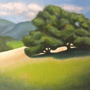 California Oak tree painting