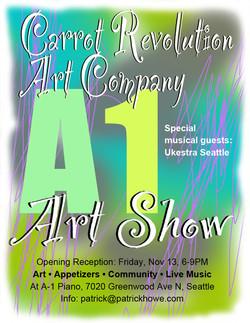 A1 Art Show Poster 2015