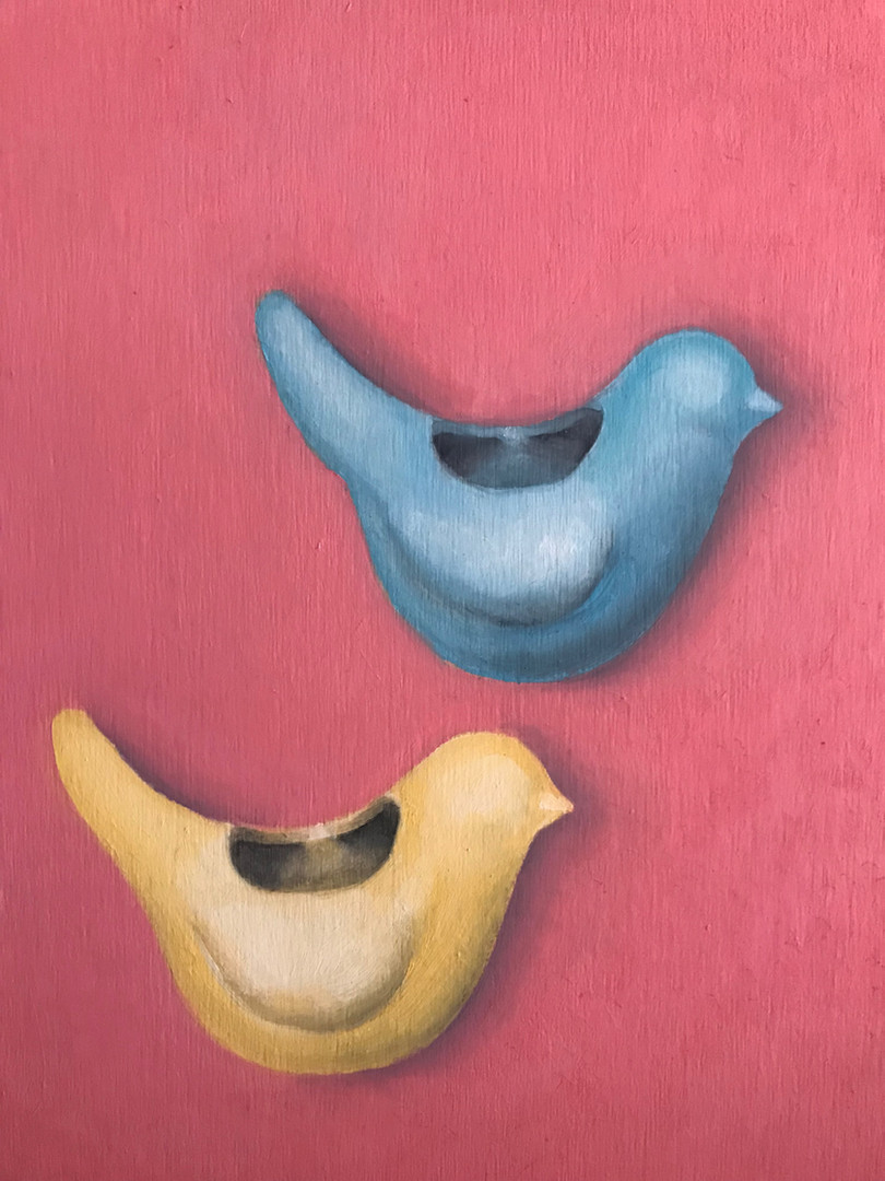 Bird Vases #3