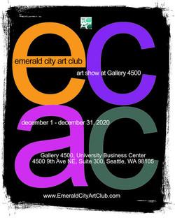 ECAC December 2020 Show Poster