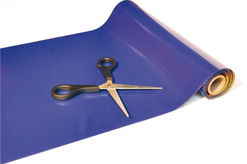 Anti Slip Blue Roll 9mx20cm - Red