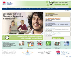 Education for Sustainability website