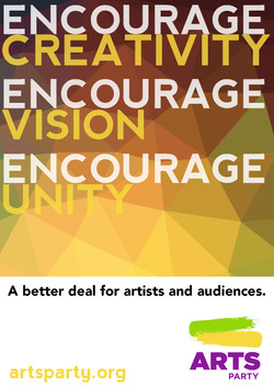 Graphics for Australian Arts Party