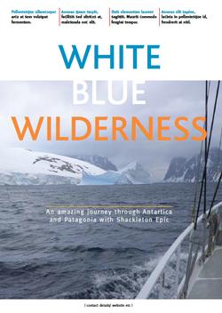 White Blue Wilderness magazine
