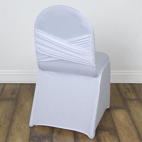 Spandex Criss Cross Back Chair Covers