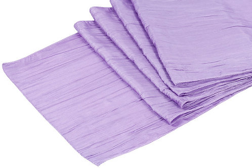 Accordion Crinkle Taffeta Runners