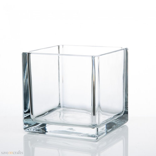"5"" Glass Cubes"