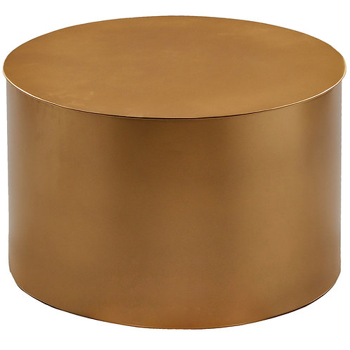 Small Gold Iron Drum