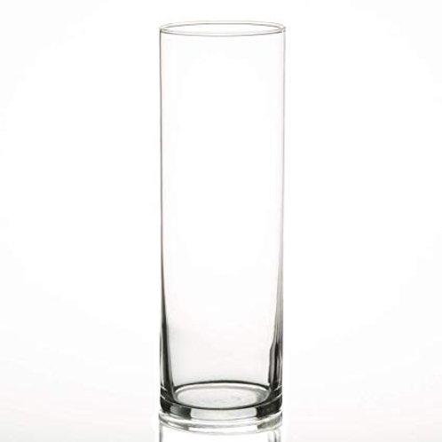 """10.5"""" Cylinder Glass Vase"""