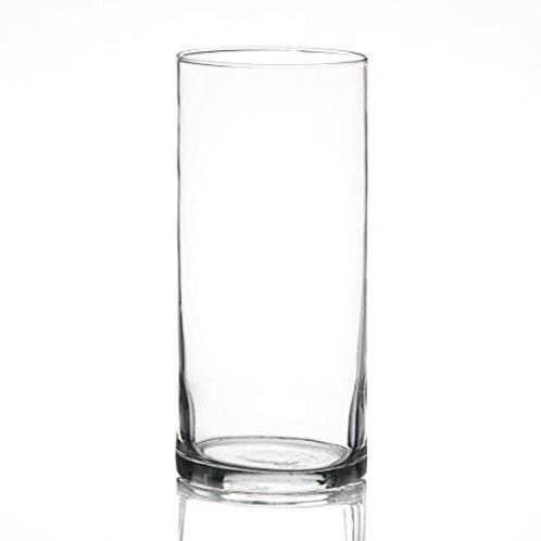 """7.5"""" Cylinder Glass Vase"""