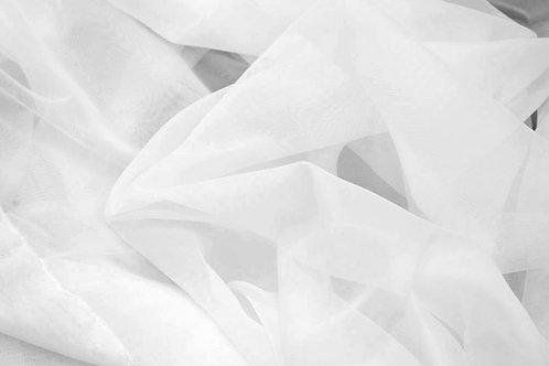 18ft White Sheer Draping Panel