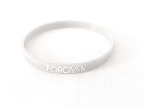 FORGIVEN BRACELET (RUBBER)