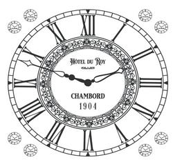 Horloge hôtel du Roy