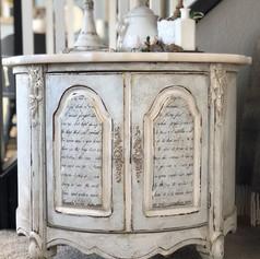 Relooking Pinerest blanc vintage