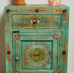 Relooking meuble Pinterest style gypsy