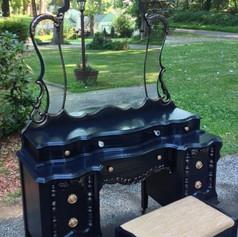 Relooking meuble Pinterest noir