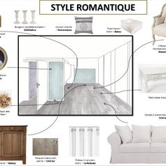 Un intérieur style romantique