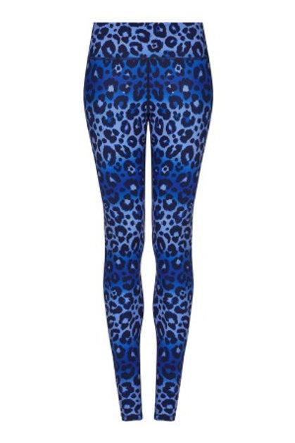 FELINE BLUE – HIGH WAISTED YOGA PANTS