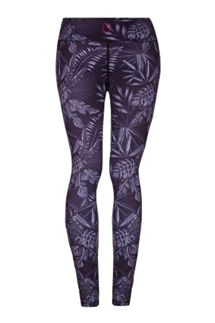 NIGHT GARDEN – HIGHER WAISTED – YOGA LEGGINGS – FULL LENGTH
